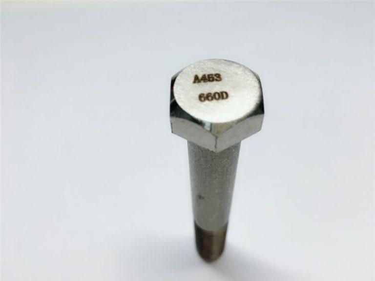 A286 pengencang kualitas tinggi astm a453 660 en1.4980 perbaikan sekrup mesin perangkat keras