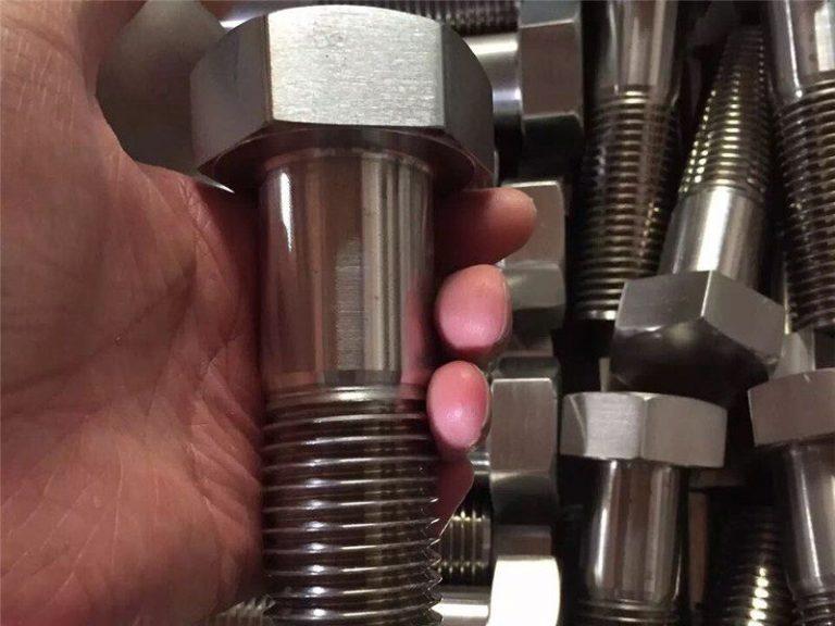 incoloy 825 en 2.4858 sekrup pengikat baut stainless steel inconel718 en2.4668