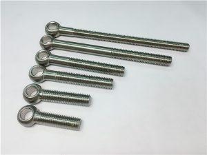 NO.38-904L 1.4539 UNS N08904 Baut Mata, baut yang dapat disesuaikan untuk pemasangan katup