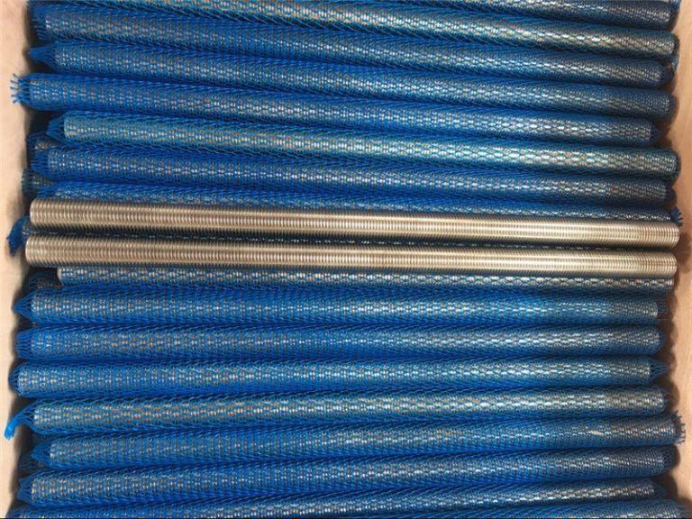 paduan nikel inconel601 / 2.4851 batang berulir trapesium barang baru