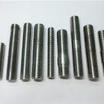 alloy718 / 2.4668 batang benang, baut pengikat baut din975 / din976