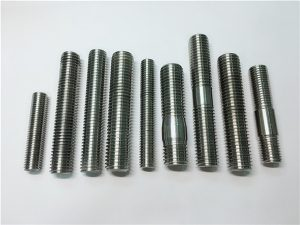 No.104-alloy718 2.4668 batang benang, baut pengikat baut DIN975 DIN976