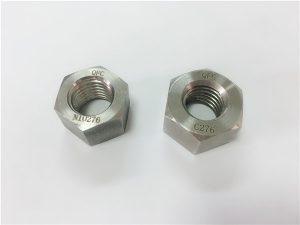No.108-Produsen pengencang paduan khusus hastelloy C276 nuts