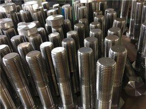 No.12-hex baut pengikat ISO4014 setengah benang A193 B8, B8M, B8T, B8C SS