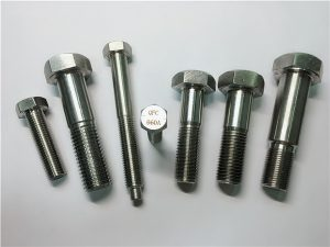 No.25-Incoloy a286 hex baut 1.4980 a286 pengencang gh2132 stainless steel hardware mesin sekrup perbaikan