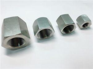 No.31-Tahan lama digunakan untuk mesin khusus wanita thread Hexagon mur stainless steel