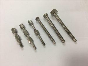 No.41-CNC bagian mesin titanium baut dan mur