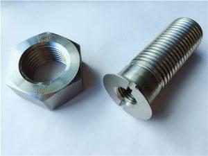 No.55-Baut dan mur stainless steel duplex 2205 berkualitas tinggi
