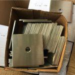 mesin cuci / pengikat plat stainless steel super duplex s32205 (f60) yang disesuaikan