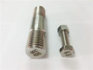 No.71-625 pengencang inconel dalam nikel