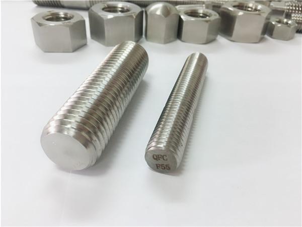 f55 / zeron100 pengencang stainless steel batang ulir penuh s32760