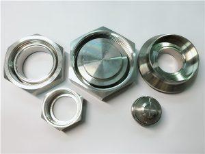 No.98-1.4410 UNS S32750 2507 soket colokan pipa hex plug yang digunakan dalam industri minyak dan gas