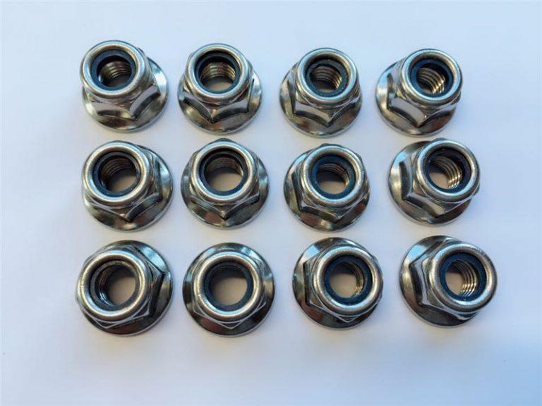 Kacang nilon 316l, 317l, 310s, 1.4462, 1.4410