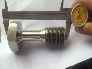 kustom cnc mengubah bagian mesin sekrup pengikat presisi