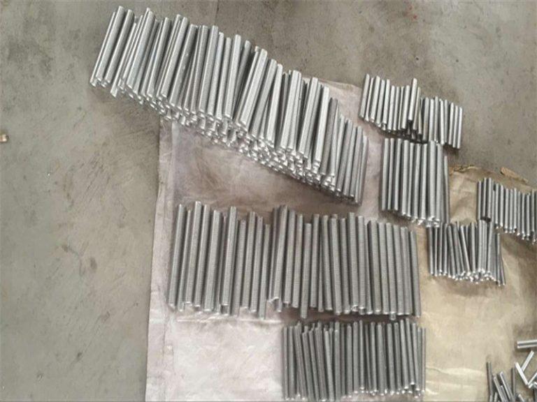 inconel 718 625 600 601 tekan hex stud baut dan mur pengikat M6 M120